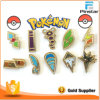 Pocket Monster Pokemon Kanto Gym Badges Metal Pins Cute Pokemon Go Pokemon Wholesale