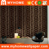 Beautiful Black Vinyl Wall Paper with High Grade (YS-190205)