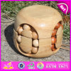 2015 Brand New Baby Wood Educational Toy, Educational Wooden Intelligence Toy. Preschool Wood Intelligence Toy W11c018