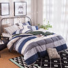 Luxury Designer Home Textile Cotton Patchwork Style Bedsheet Quilt Cover