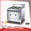 Electric /Gas Cooking Range with Economical Burner (HGR-6E)