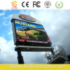Outdoor Two Poles Video Advertising LED Display Board
