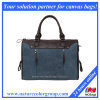 Men′s Canvas Business Handbag for Laptop