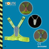 LED Reflective Vests with CE En13356 for Sport /Reflective Safety Vest