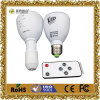 Retractable Remote Control Rechargeable LED Bulb Light