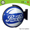 Outdoor Rotating Light Sign Rotating Lighting Box Outdoor Round Vacuum Forming Light Box
