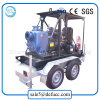 Hot Sale 4 Inch Priming Crude Engine Centrifugal Fire Control Pump