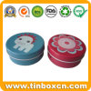 Food Tin Box Packaging for Round Metal Small Mini Tins