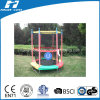 Colorful Round Mini Trampoline with Safety Net