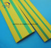 2: 1 3: 1 Yellow Green Stripped Heat Shrink Tubes for Identification