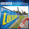 PVC Vinyl Laminated / Coated Printable Mesh Banner for Wall Graphics