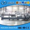 PA Color Masterbatches Plastic Granules Making Machine Twin Screw Extruder