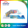 Decorative Coating Three Folds Color Card