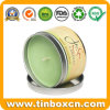 Gift Packaging Metal Round Scented Candle Tin Box for Travel