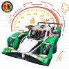 Plastic Formula Racing Car Blocks Toy for Kids
