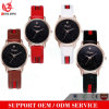 Vs-074 Stainless Steel Back Watches Japan Movt Quartz Silcone Crystal Watch Women Time Clock