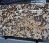 Large Abstract Lanscape Statuary Painting Multicolor Brown Marble Slab