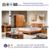 India Design Wooden Bed Modern Home Bedroom Furniture (SH-011#)