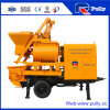 Pully Manufacture Portable Double Shaft Concrete Mixer Pump for Sale (JBT40-L)