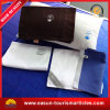 All Size Flocked PVC Travelling Rectangle Cotton Pillow for Airline