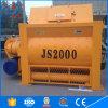 China Twin Shaft Electric Js Series Higj Quality Js2000 Concrete Mixer