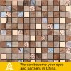 Hot Sale Crystal Glass Mosaic with Golden Metal and Stone