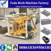 Hydraulic Qt40-3A Mobile Block Machine/Movable Concrete Block Machine