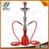 High Quality Smoking Glass Pipe Glass Hookah Cycle Dual Hookah