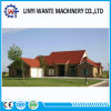 Masonry Material 0.4mm Thickness Stone Coated Metal Roof Tile Roman Type