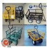 Multicolor Metal Garden Handing Cart