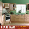 Apartment PVC Blister Wood Kitchen Cabinet