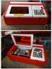 Hx-3040 Laser Stamp Making Machine Portable Mini Laser Cutter