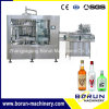 Glass Bottle Vinegar Filling Capping Machine / Automatic Bottle Filler
