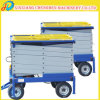 Strong Material Mobile Ladder Work Platform with Anti-Skid Table
