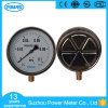 6′′ 160mm Half Stainless Steel Pressure Gauge with Oil Fillable
