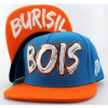 Bois Embroidery Simple Snapback Cap (TO-SN)