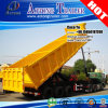 3 Axis Rear/Side Dump Semi Trailer with Hydraulic Jack