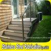 Floor Mounted Stainless Steel Outdoor Stair Handrail