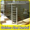 Customed Stainless Stair Handrail Steel Railing for Balcony