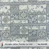2015 New Cotton Geometric Lace Fabric in Rolls (M3409)