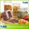 Glass Lid Airtight Tea Coffee Sugar Canister Set