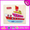 2015 Kids Toy Wooden Jigsaw Puzzle Patterns, Lowest Price Wooden Puzzle Game Toy, High Quality Magnetic Jigsaw Puzzle Set W14c083