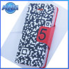 Smart Phone Leather Flip Case for iPhone5 (WLC03)