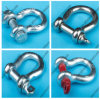 Rigging Hardware Screw Pin U. S. Type Wire Rope Anchor U Shackle