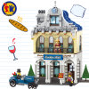 City Series Sunshine Hotel Blocks Toy for Kids