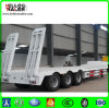 Tri-Axle 60 Tons Low Bed Semi Trailer for Sales