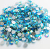 China Wholesale Glass Diamond Non Hot Fix Flat Back Crystal Stone (FB-SS20 Aquamarine ab)