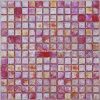 Red Iridescent Mosaic Glass, Mosaic Tile (HGM319)