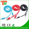 2017 Wholesale Colorful High Speed USB Data Cables with LED Light Fit for iPhone