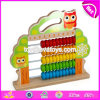 New Design Baby Abacus Toys Wooden Educational Toys for 1 Year Old W12A033